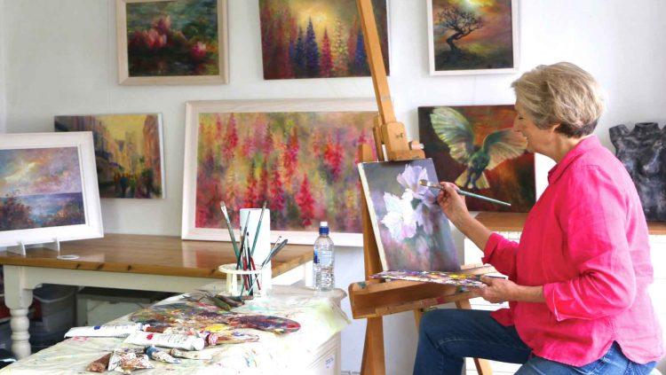Jenny Brown - studio